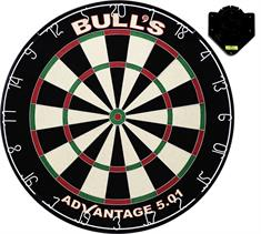 BULLS Advantage 501 Dartboard inc. Clickfix Bracket
