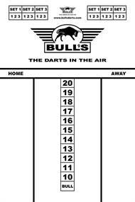 BULLS Budhet Whiteboard 45x30cm