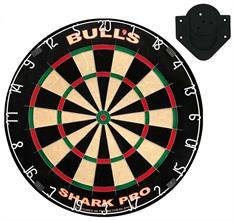 bulls Shark Pro Dartboard incl. Rotate Bracket multicolor