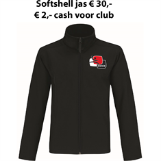 Club Softshell Jack HV Kwiek Raalte