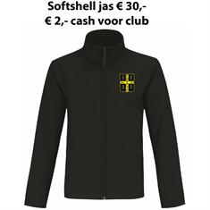 Club Softshell Jack SV Raalte