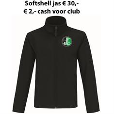 Club Softshell Jack VV De Weide