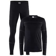 craft Baselayer Set Men zwart