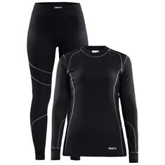 craft Baselayer Set Women zwart