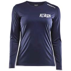 Craft VV Forza t-shirt lange mouw ladies incl. clublogo