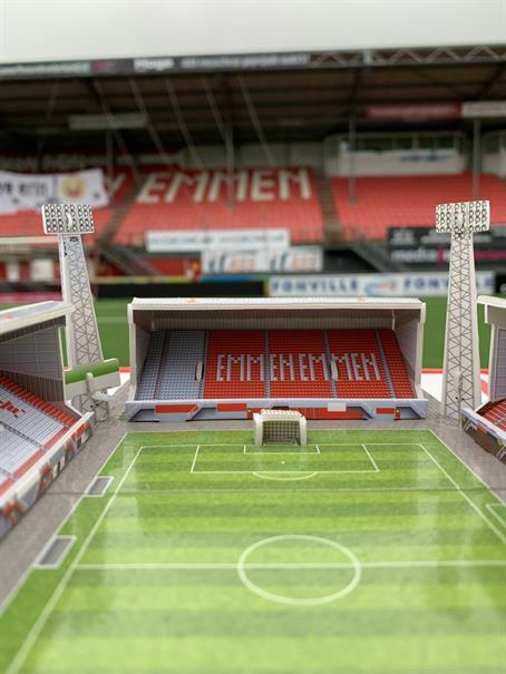 FC Emmen 3D Puzzel