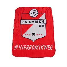 FC Emmen Fleecedeken Logo