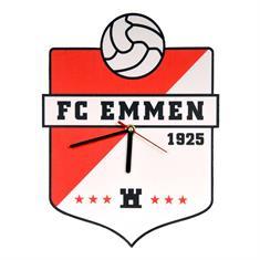 fc emmen Logo Klok rood combinaties