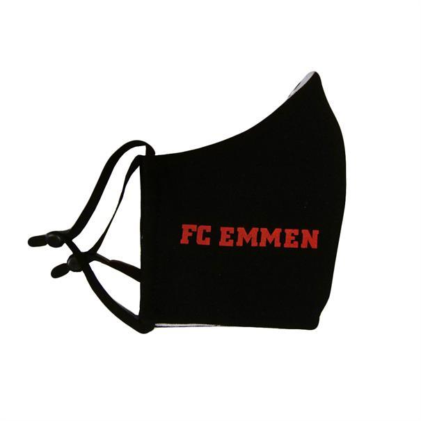 FC Emmen Mondkapje Zwart