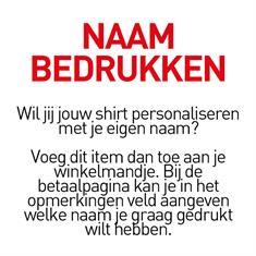 FC Emmen Naam bedrukken