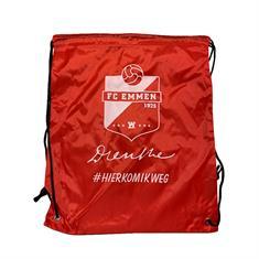 FC Emmen Rugzak met koord #HIERKOMIKWEG