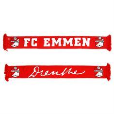 fc emmen Sjaal Drenthe rood