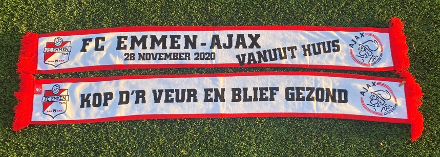 FC Emmen Sjaal FC Emmen - Ajax