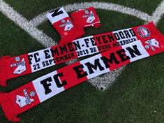 fc emmen Sjaal FC Emmen - Feyenoord wit