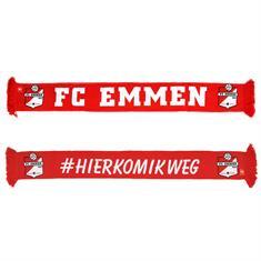 FC Emmen Sjaal #HIERKOMIKWEG
