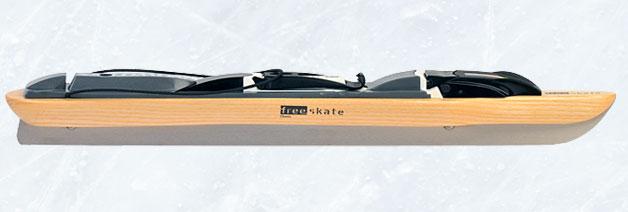 Free-skate Classic Onderstel Hout