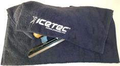 Icetec Schaatsdoek CUSTOM MADE+logo, badstof 450gr