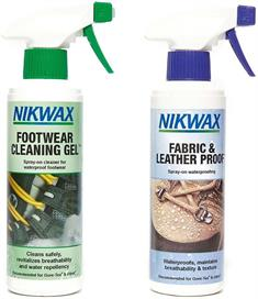 Nikwax Twin Fabric & Leather Spray/Footwear