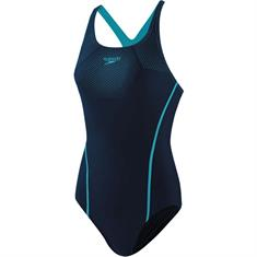 Speedo tech placem medalist nav/blu